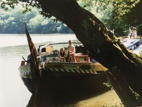 On River Saône in France