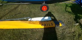 cv rudder Good sails