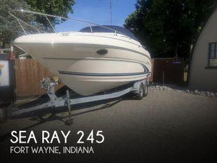 2001 Sea Ray Weekender 245