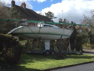 Used mast from 30ft half ton yacht.