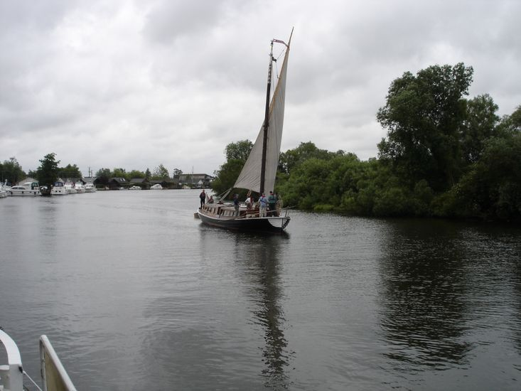 Barge, Humber Keel residential.