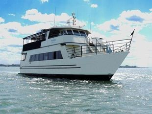 1989 66′ x 20′ Steel 100 Passenger Boat Built by Kanter Yachts