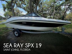 2015 Sea Ray 19 SPX
