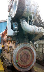 1600 HP ALLEN PBC S37D MARINE ENGINE