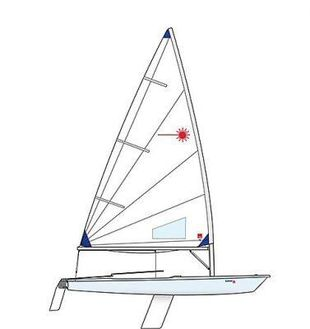 Laser Race Radial - New