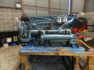 Perkins Sabre M185C Marine Diesel Engine Breaking For Spares