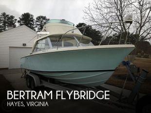 1971 Bertram Flybridge