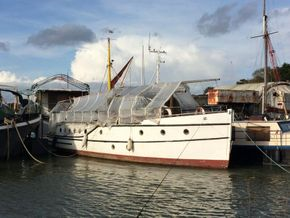 Classic wooden motor yacht Traditional one off build  - Main Photo