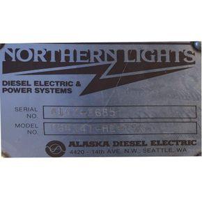 Northern Lights generator set 93 kWA