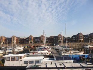 Widebeam Dutch Barge liveaboard