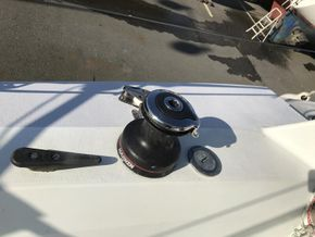 New sheet winches and Kiwi Grip deck treatment