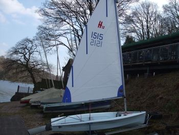 Hartley 12  sailing dinghy