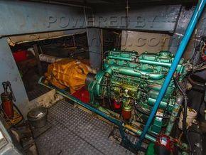 Dutch Barge 25 Metre  - Engine