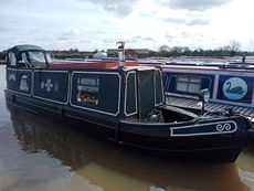 'Hannah' 35ft Semi-Trad Narrowboat