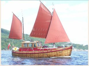 Gaff Rigged Ketch Motor Sailer