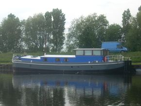 On her home mooring