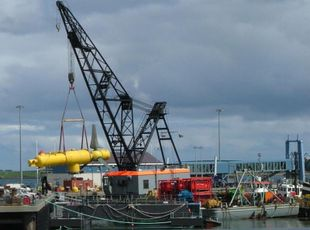 Barge - Crane Barge For Charter