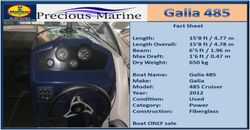 Galia 485 Cruiser for sale