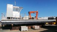 Aluminium Self Propelled Crane Barge