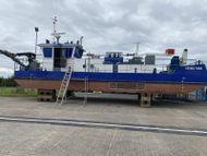 Road transportable suction dredger