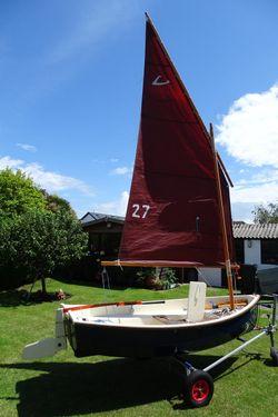 Cornish Crabbers Limpet Sail No 27