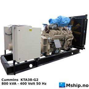 Cummins KTA38-G2  800 KVA