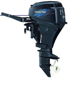 Tohatsu Four Stroke Series MFS15