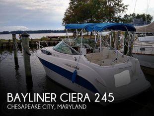 2007 Bayliner Ciera 245