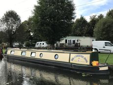 The Curious Dog 60' Semi Trad Narrowboat fitted out by Bourne Boats