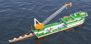 Pipe Laying / Heavy Lift Vessel
