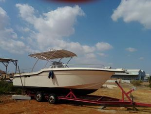 9.9m Glass fibre custom made fishing boat