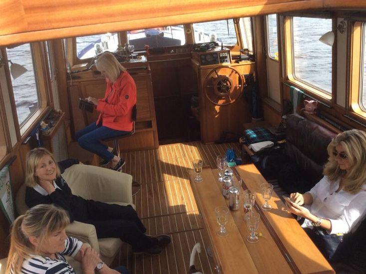 Unique live aboard