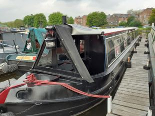 Black Pearl 61ft Trad built 2003 by Liverpool Boats £44,995