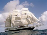 140ft. THREE MASTED BARQUE TALL SHIP - STS LORD NELSON