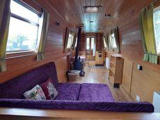 57'8ft Cheshire Narrow Boat