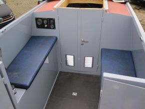 stern deck seating area