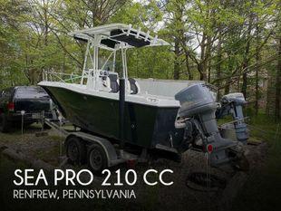 1998 Sea Pro 210 CC