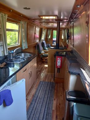 Lounge and Galley