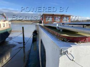 Dutch Barge 25 Metre  - Side Deck