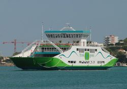 NB MODERN DOUBLE ENDED FERRY