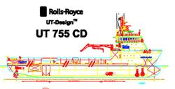 78mtr Diesel/ Electric Platform Supply Vessel