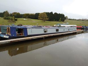 Mandolin 70ft 2003 Colecraft 6 berth traditional stern narrowboat.