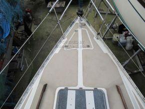 Sailing Cruiser 23 Cobra 700 Fin Keel - Foredeck