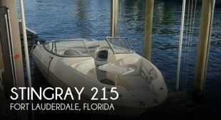 2011 Stingray 215LR Sport Deck