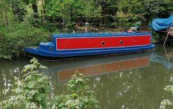1986 Ironworks narrowboat 2021 full rest