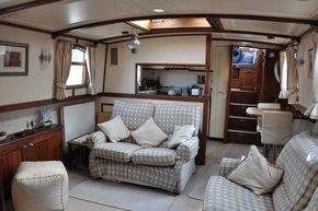Saloon looking aft to gallery