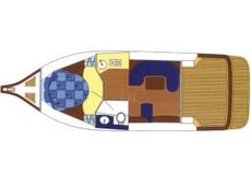 Viki 32 Sedan Single Cabin Layout
