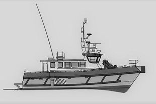 FMB1025 - Windfarm Support / Crew / Survey Vessel