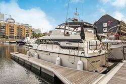 Motor Boat at St Katharine Docks, E1W