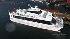 Catamaran 142 Pax with cargo room / crane